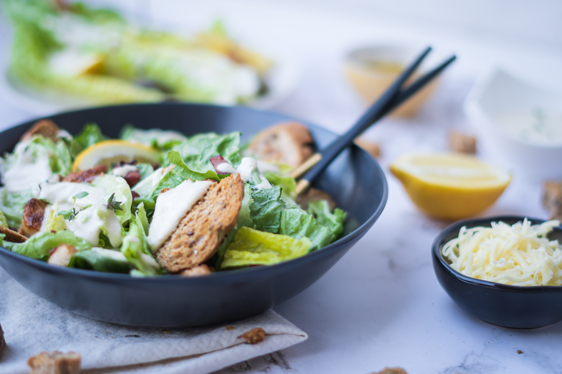 Zdravé recepty, Caesar šalát s kuracím mäsom