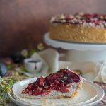 Slivkový cheesecake s makom, Makovo-slivkový cheesecake
